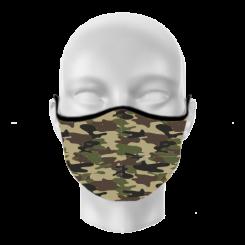 Máscara de Proteção - Camuflado