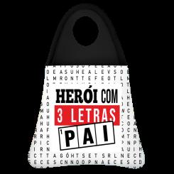 Lixeira de Carro - Pai Heroi 3 Letras