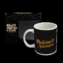 Caneca - Profissões Gold - Veterinária