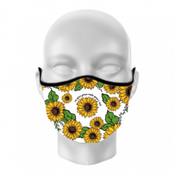 Máscara de Proteção - Girassol