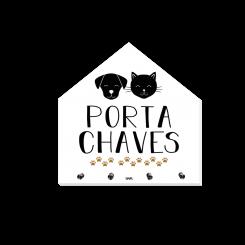 Porta Chaves Casa - Pet's