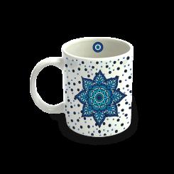Caneca - Mandala Azul