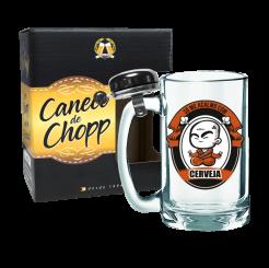 Caneco de Chopp Com Campainha 340ml + cx - Acalmo Com Cerveja