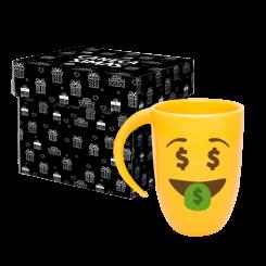 Caneca Fall Amarela - Emoji Ostentação
