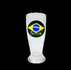 Copo de Cerveja 200ml - Brasil Estilizado