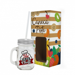 Caneca Pote  - Pai Super Cheff