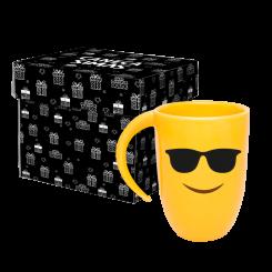 Caneca Fall Amarela - Emoji Oculos