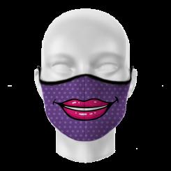 Máscara de Proteção - Batom