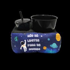 Almofada de Pipoca Individual - Astronauta
