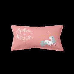 Almofada Decorativa Palito - Unicórnio Sonhos