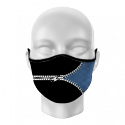 Máscara de Proteção - Zíper
