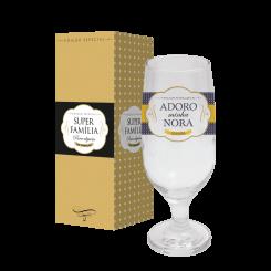 Taça de Cerveja 300 ml + cx - Nora Adoro