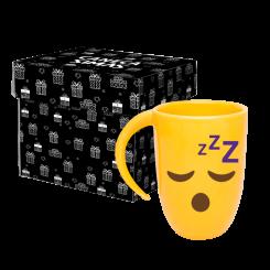 Caneca Fall Amarela - Emoji Dormindo