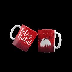 Caneca - Feliz Natal Trenó