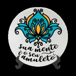 Prato Decorativo 11cm - Sua Mente