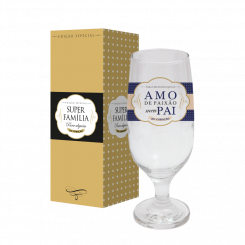 Taça de Cerveja 300ml + cx - Pai Paixão