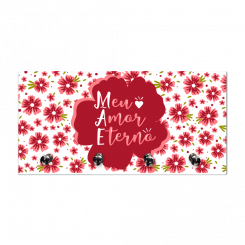 Porta Chaves Retangulo - Mãe Eterno Amor