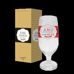 Taça de Cerveja 300ml + cx - Mãe Paixão