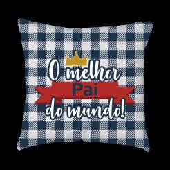 CAPA DE ALMOFADA - MELHOR PAI
