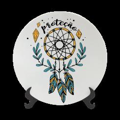 Prato Decorativo 11cm - Proteção