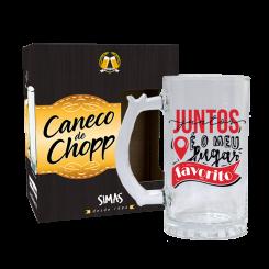 CANECO DE CHOPP - NAMORADOS JUNTOS