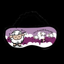 Tapa Olhos para Dormir - Ovelha