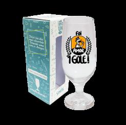 Taça de Cerveja 300ml + cx - Amor Ao 1 Gole