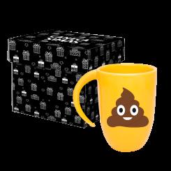 Caneca Fall Amarela - Emoji Coco