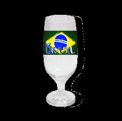 TAÇA DE CERVEJA 300ML - BRASIL ESTILIZADO