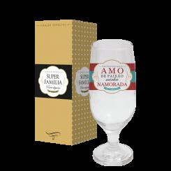 Taça de Cerveja 300ml + cx - Namorada Paixão