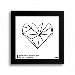 Quadro - Coração