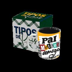 CANECA BICOLOR - TIPOS DE PAIS - PAI MELHOR AMIGO