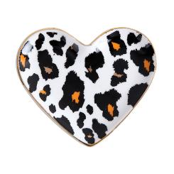 Mini Prato Porta Coisas e Joias - Onça Coração