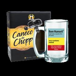 Caneco de Chopp Com Campainha 340ml + cx - Bom Humoril