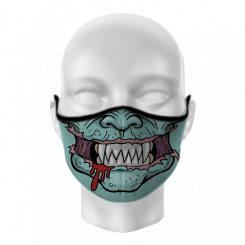 Máscara de Proteção - Zumbi
