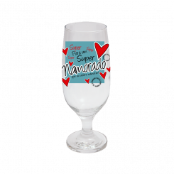 Taça de Cerveja - Super Namorado