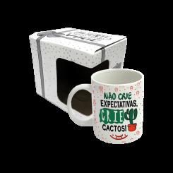 CANECA - CRIE CACTOS