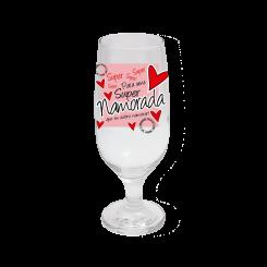 Taça de Cerveja - Super Namorada