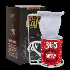 KIT CAFÉ -  MOTIVOS PARA AMAR