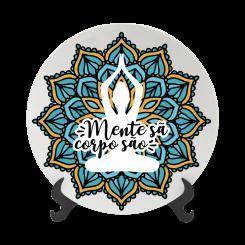 Prato Decorativo 11cm - Mente Sã