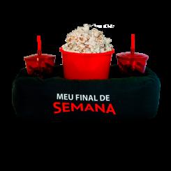 Almofada de Pipoca Dupla - Netflix
