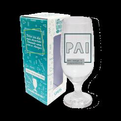 Taça de Cerveja  300ml + cx - Pai Exemplo