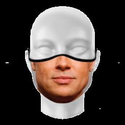 Máscara de Proteção - Boca Brad Pitt