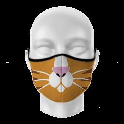 Máscara de Proteção - Gato Amarelo