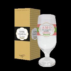 Taça de Cerveja 300ml + cx - Dinda Paixão