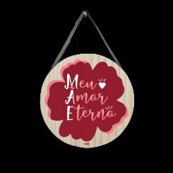Quadro Decorativo Redondo - Mãe Eterno Amor