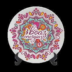 Prato Decorativo 15cm - Boho