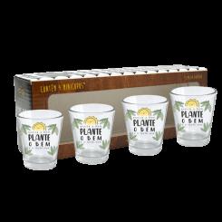 Copo Aperitivo Kit c/ 4 Unid - Plante O Bem