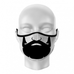 Máscara de Proteção - Barba