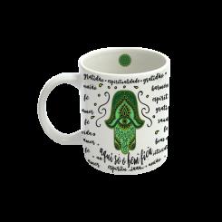 Caneca - Mandala Verde